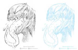 Venom Pencils by D-MAC