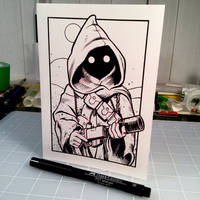 Inktober Day 9 - JAWA by D-MAC