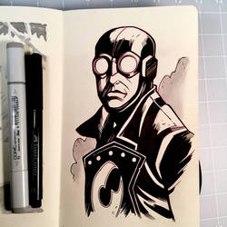 Inktober Day 11 - LOBSTER JOHNSON