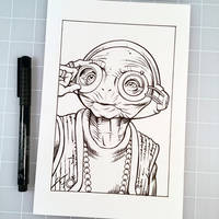 Inktober Day 21 - MAZ KANATA by D-MAC