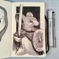 Inktober Day 26 - SQUEAK by D-MAC