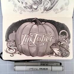 Inktober Day 31 - HAPPY HALLOWEEN by D-MAC
