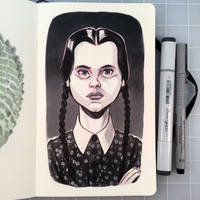 Wednesday Addams by D-MAC