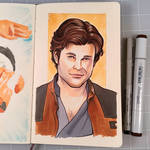 Solo: A Star Wars Drawing