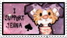STAMP: I support Jenna by Nekoshiba