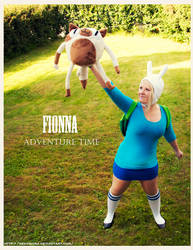 Adventure time: Fionna cosplay by Nekoshiba