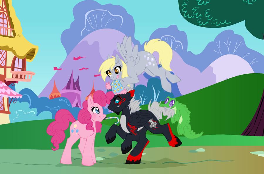 Pony commission by Nekoshiba