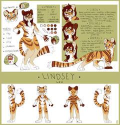 Lindsey Lou reference sheet by Nekoshiba