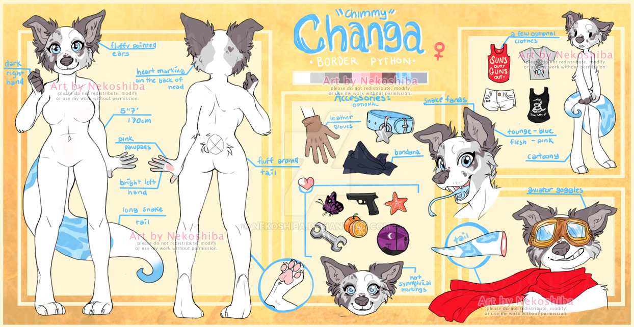 commission sheets