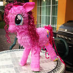 Pinkie Pie Pinata by Seatha