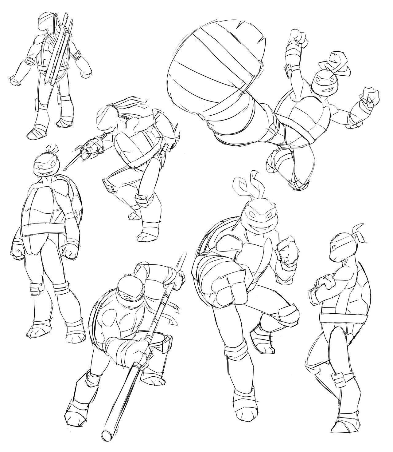 tmnt coloring pages ralph 2012 - photo#17