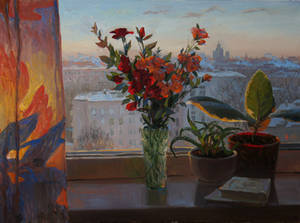 winter sun by kochetkov