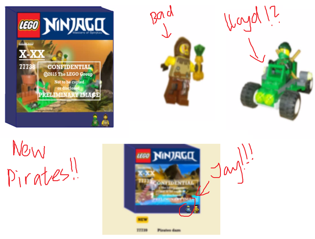 new ninjago season 6 set pirates by maylovesakidah on deviantart