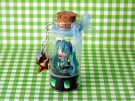 Hatsune Miku Bottle Charm
