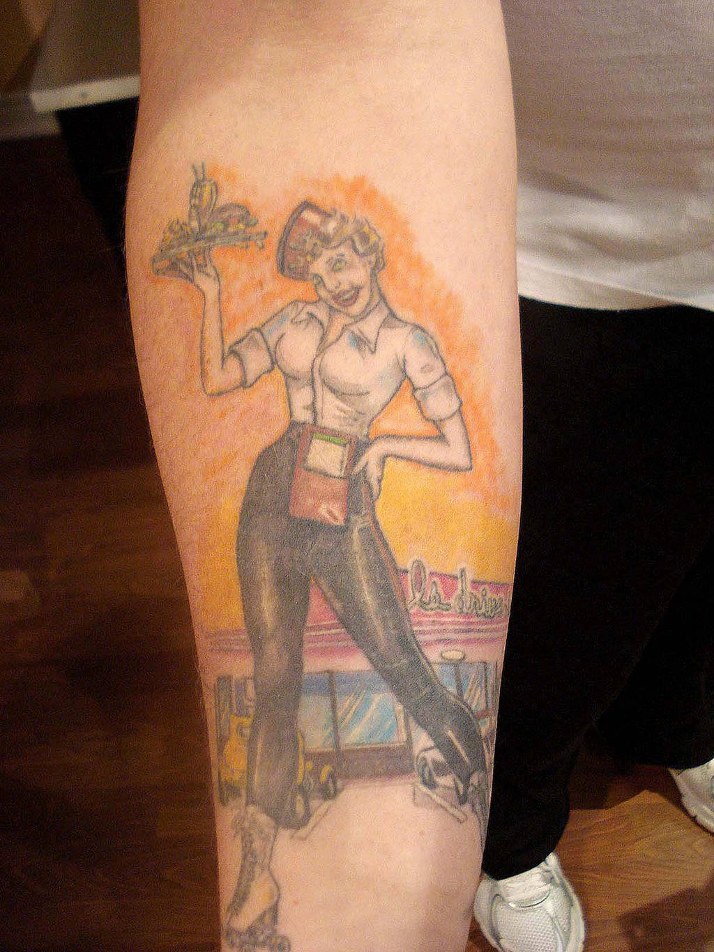 American Graffiti Tattoo by MoRobles
