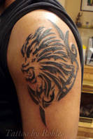 Tribal Lion by MoRobles