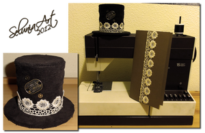Artcrossing Gift - Tiny Steampunk Hat