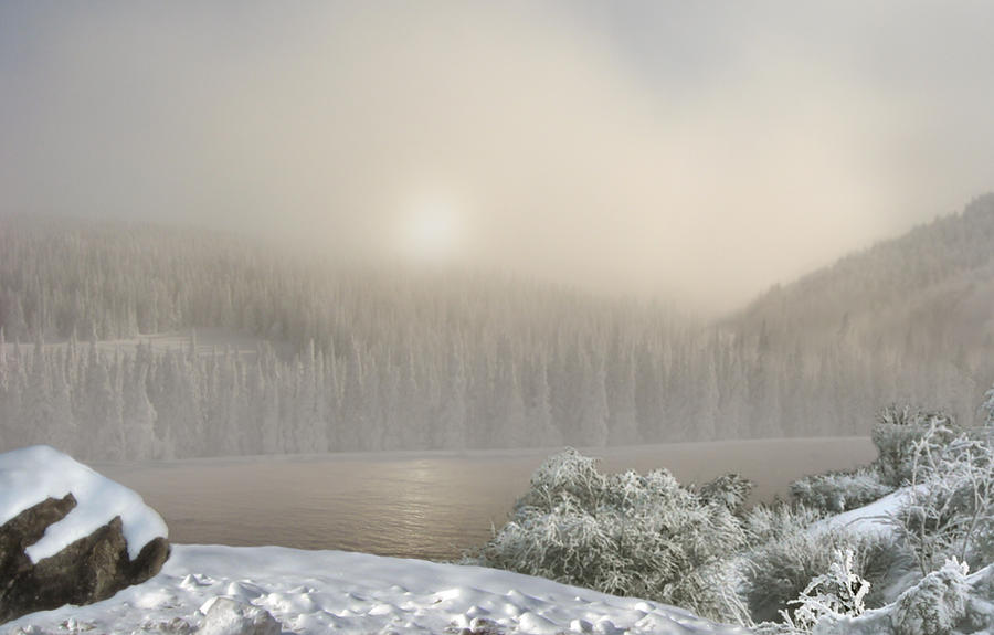 Winter Premade Background by Selunia