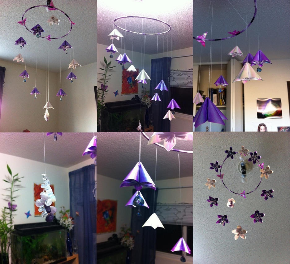 Kusudama Flower Origami Mobile By Syrazel Nightrose On Deviantart