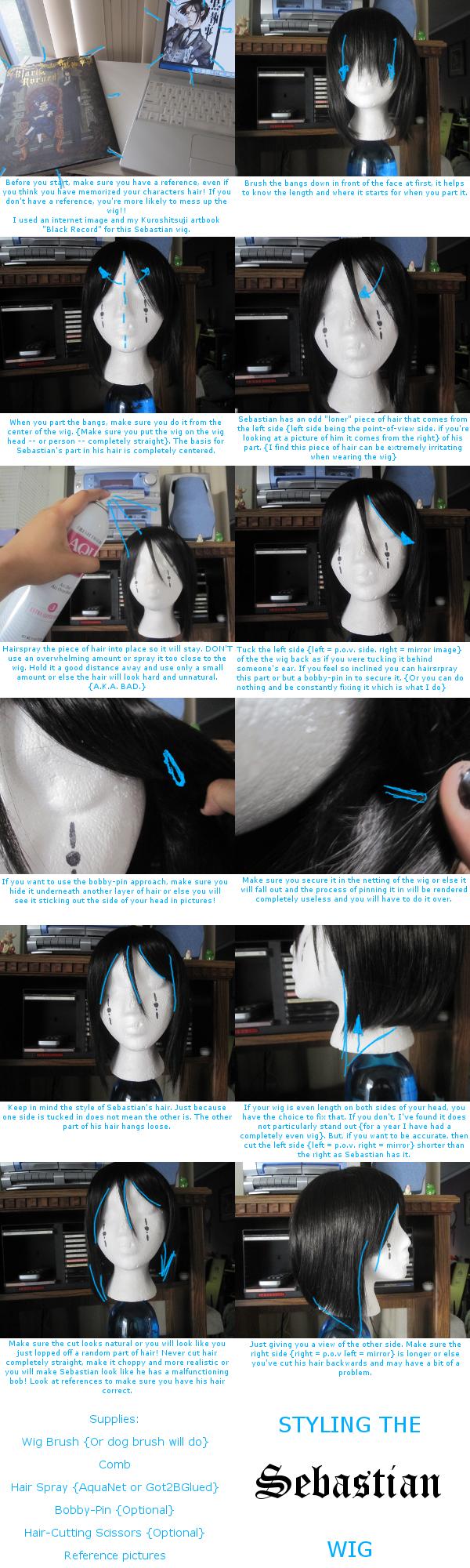Styling the Sebastian Wig