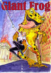 Last month for 'Giant Frog'! by MyVoreShort