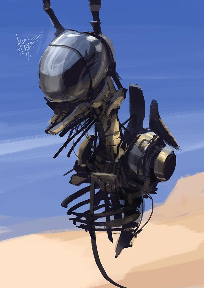 Robot 1 by Kiabugboy