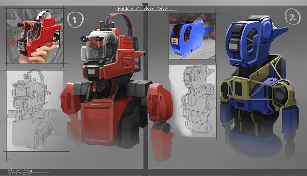Hardware Robots by Kiabugboy