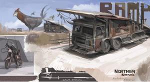 Ramp Truck by Kiabugboy