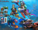 Beneath the waves - Kohura reef community