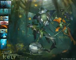 Beneath The Waves - Mura Kelp kingdom by Kiabugboy