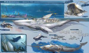 Beneath The Waves Cetan cetaceans by Kiabugboy