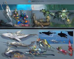 Beneath The Waves- Line Up Final Final by Kiabugboy