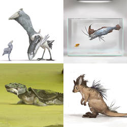 October Creature Compendium 2 by Kiabugboy