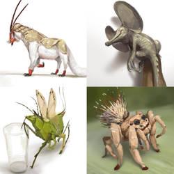 October Creature Compendium 3 by Kiabugboy