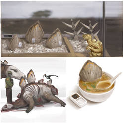 Stegosaurus Plate Soup by Kiabugboy