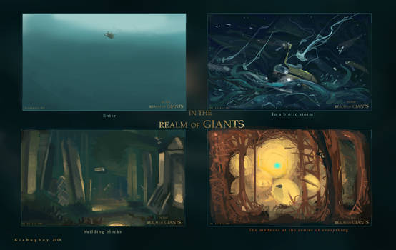 In The Realm of Giants- Environment/keyframe art
