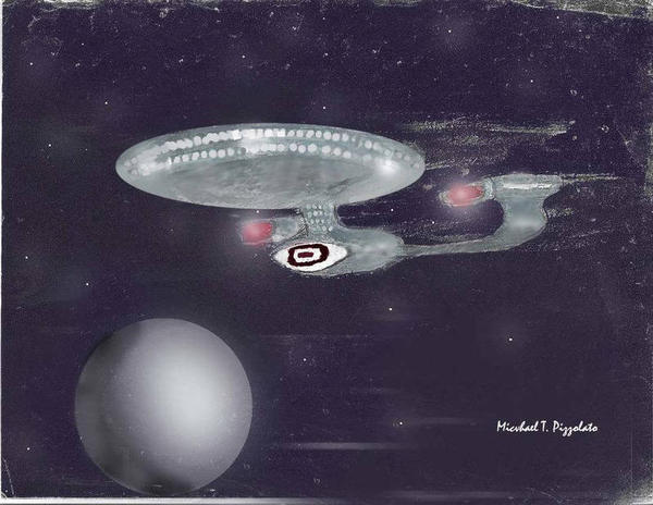 The Enterprise, by Mike Pizzolato