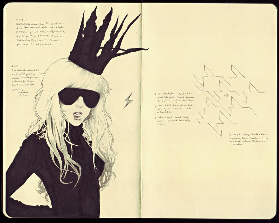 Sketchbook 1 by merkymerx
