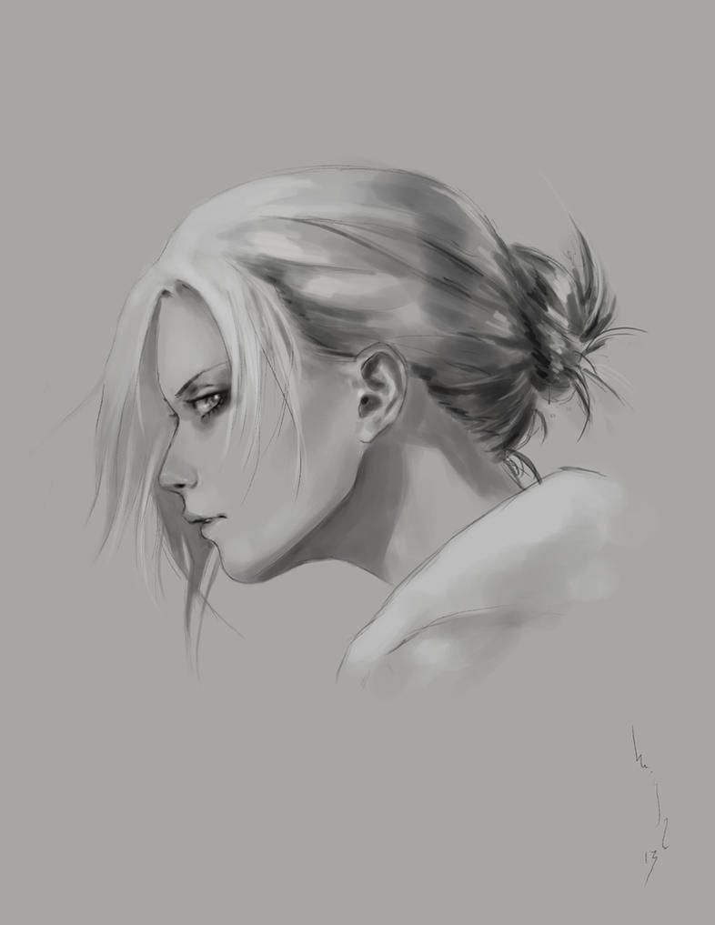 Attack on Titan: Annie Annie Leonhardt sketch by merkymerx