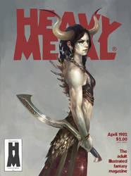Fake Heavy Metal cover WIP by merkymerx