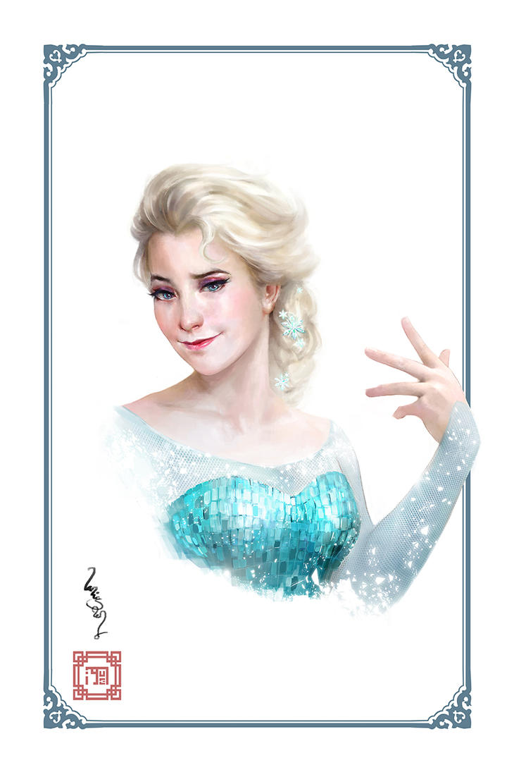 Elsa by merkymerx