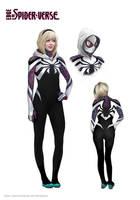 Spider-Gwen by merkymerx