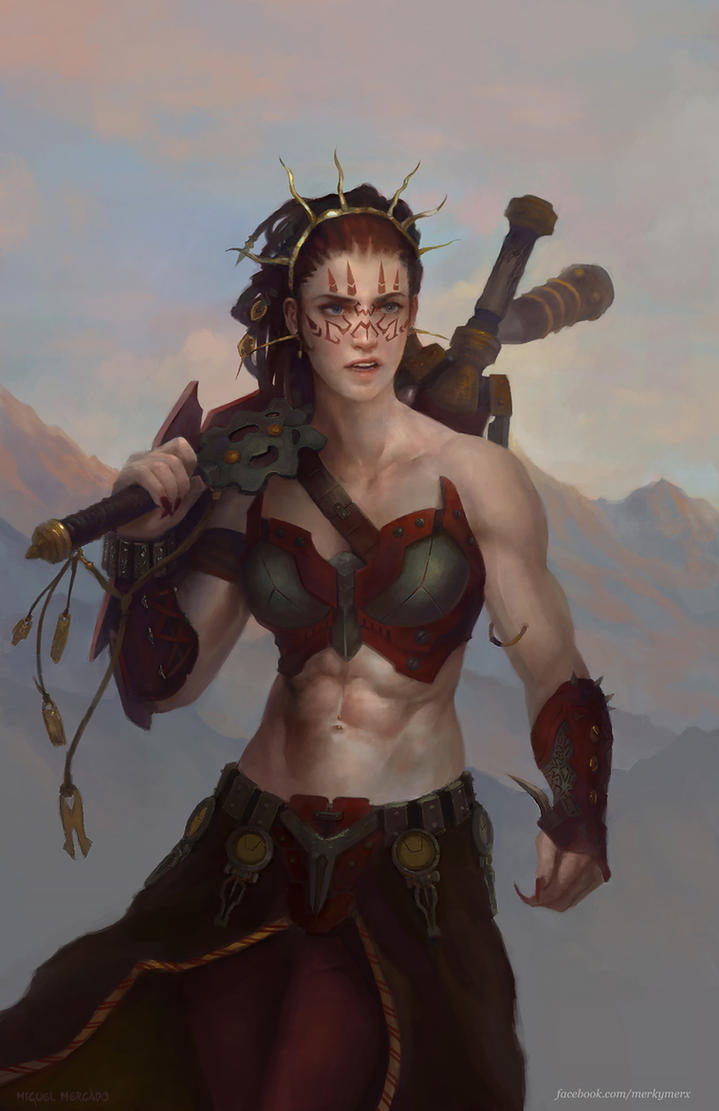 Jeska, Warrior Adept by merkymerx