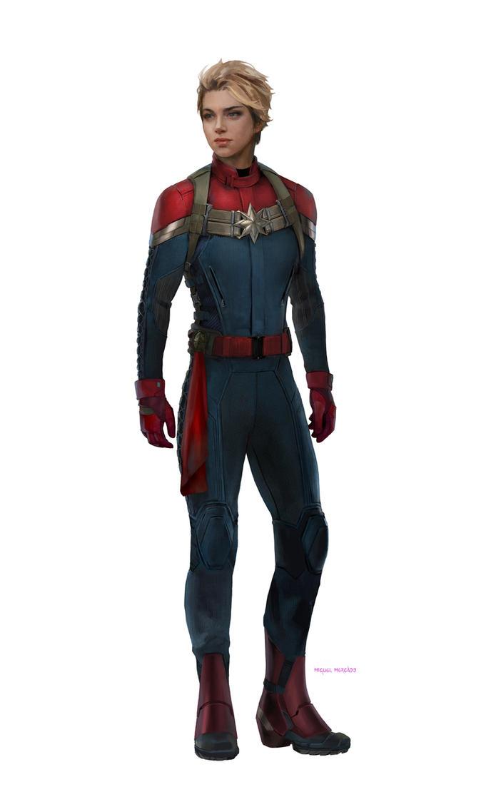 Captain Marvel MCU by merkymerx