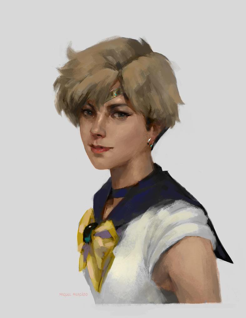 Sailor Uranus by merkymerx