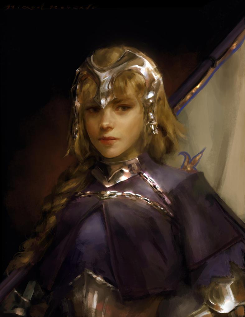 Jeanne d'Arc by merkymerx