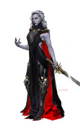Lady Death redesign by merkymerx