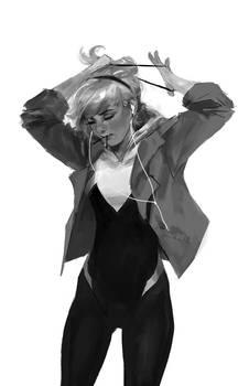 Spider-Gwen: ponytail