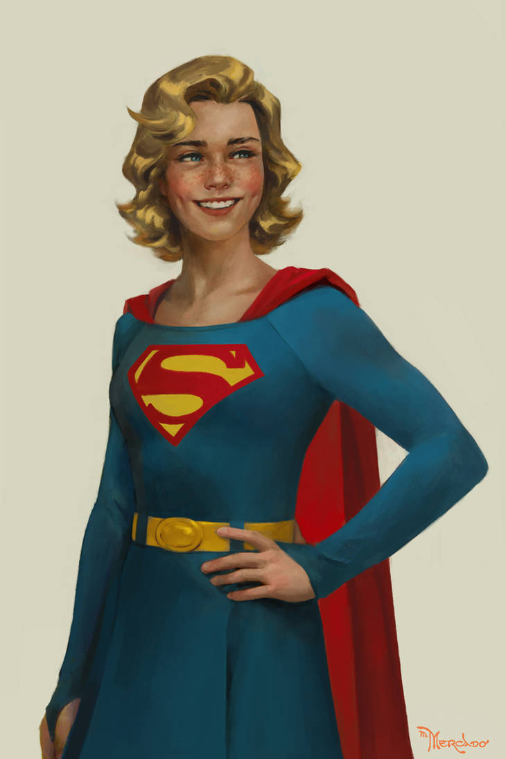 Silver Age Supergirl by merkymerx