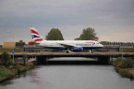 G-EUPE British Airways Airbus A319-100